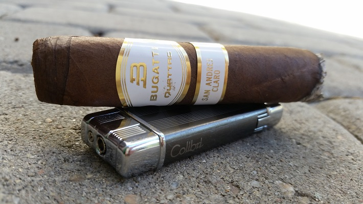 Team Cigar Review: Bugatti Quattro Claro Toro