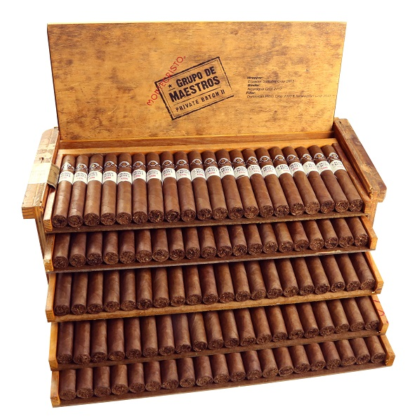 Cigar News: Altadis U.S.A. Announces Montecristo Grupo de Maestros Private Batch II