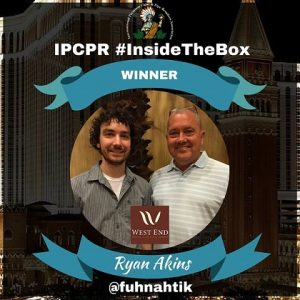 Interview with Ryan Akins - IPCPR 2016 Inside the Box Winner