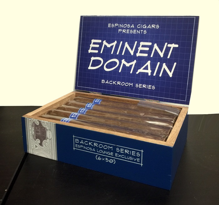 Cigar News: Espinosa Cigars Announces Eminent Domain