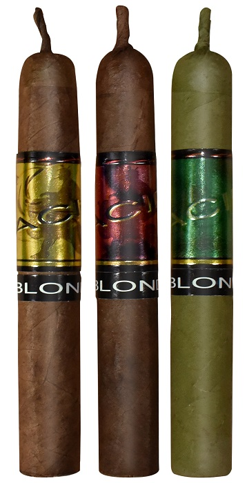 Cigar News: Drew Estate Debuts ACID Green Kuba Candela, ACID Blondie Candela, and Two Additional ACID Blondie Expressions