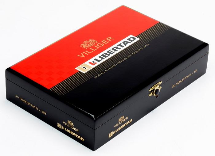 Cigar News: Villiger Unveils New La Libertad Packaging