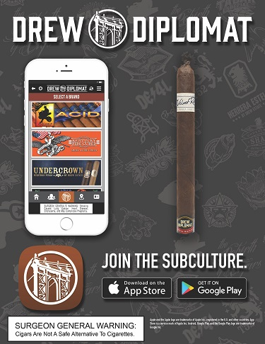 Cigar News: Drew Diplomat Event Series Kicks Off With The Liga Privada Unico Serie Velvet Rat