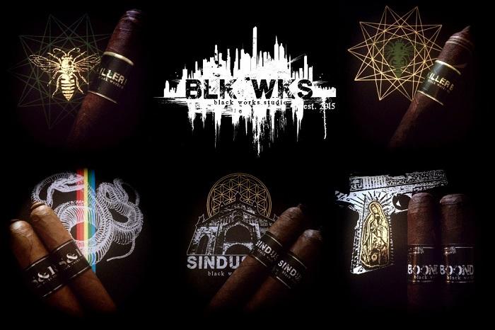Cigar News Black Works Studio Announces S&R, Boondock Saint and Sindustry