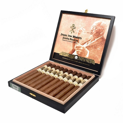Cigar News: Pappy Van Winkle Family Reserve Barrel Fermented Churchill and Pappy Drew Limitada Announced