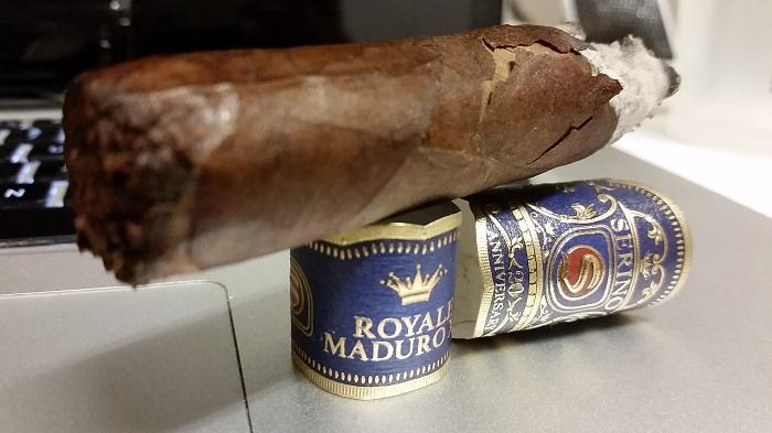 Team Cigar Review: Serino 20th Anniversary Royale Maduro XX Sublime