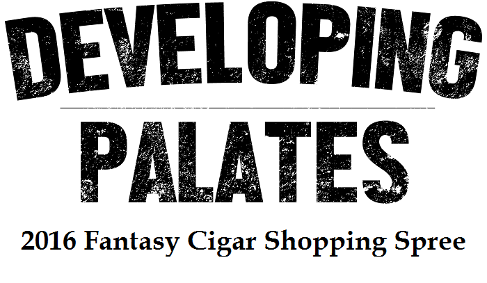 2016 Fantasy Cigar Shopping Spree