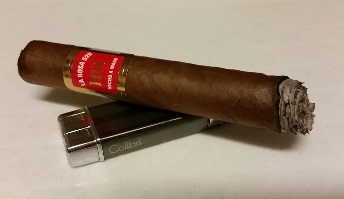 Team Cigar Review: HVC La Rosa 520 Reyes
