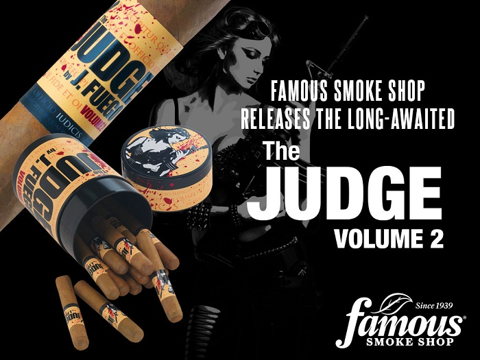 Cigar News: Famous Smoke Shop Releases The Judge Volume 2