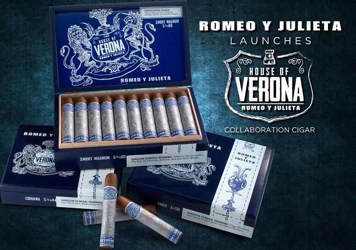 Cigar News: Romeo y Julieta Launches House of Verona Collaboration Cigar