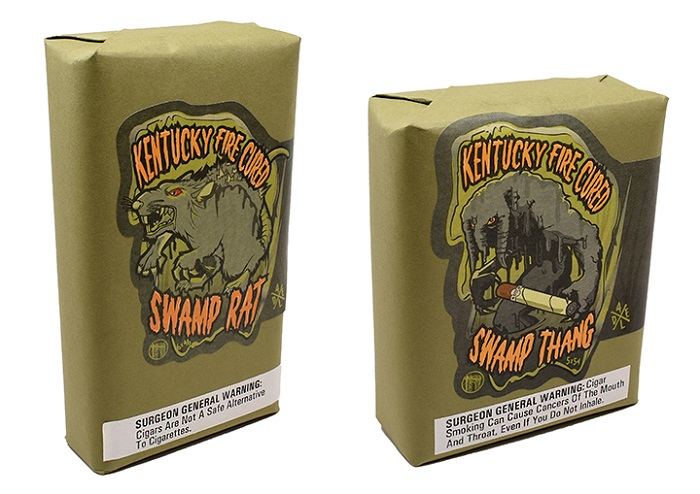 Cigar News: Drew Estate Ships Kentucky Fire Cured Swamp Thang and Swamp Rat
