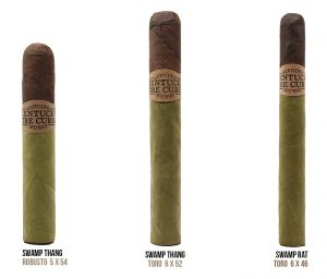 Cigar News: Drew Estate Ships Kentucky Fire Cured Swamp Thing and Swamp Rat