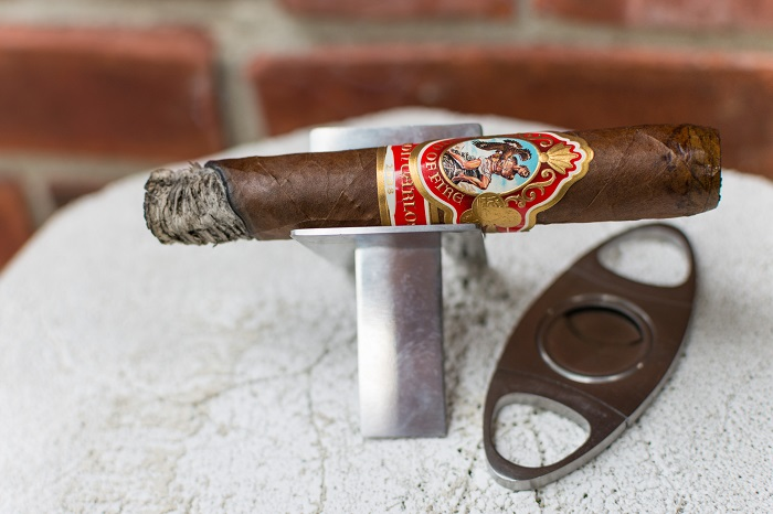 Personal Cigar Review: God of Fire by Don Carlos 2008 Robusto Tubos