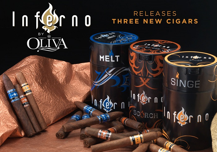Cigar News: Oliva Launches Three New Inferno Blends With Famous Smoke Shop