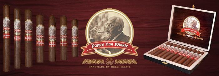 Cigar News: Drew Estate Announces Pappy Van Winkle Tradition