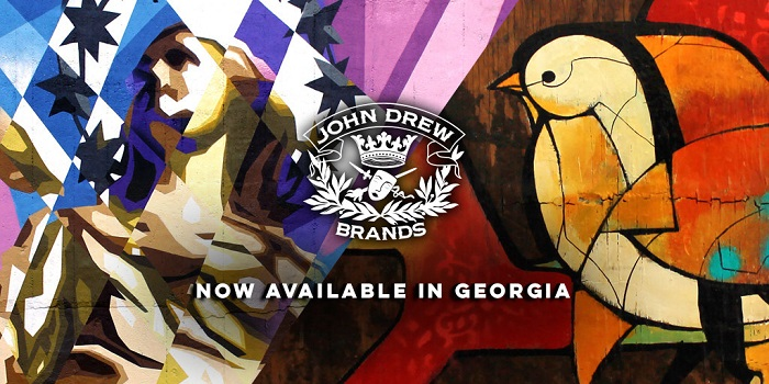 Spirit News: John Drew Brands Announces Distribution Deal with Georgia Crown Distributing Co. in Georgia