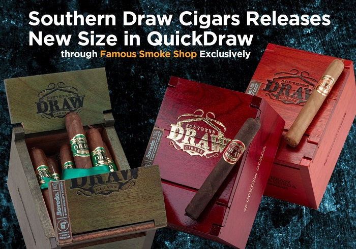 Cigar News: Southern Draw and Famous Partner On New QuickDraw Vitola