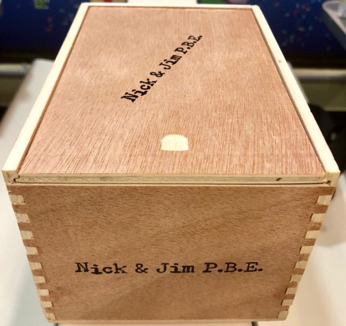 Cigar News: Nick Syris and Jim Robinson Collaborate on Nick & Jim's P.B.E.
