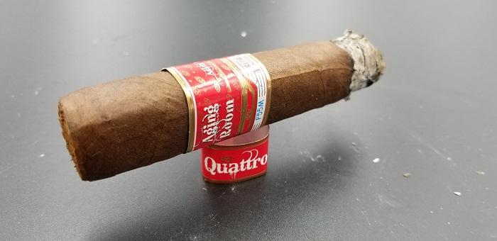 Team Cigar Review: Aging Room Quattro F55M Vibrato