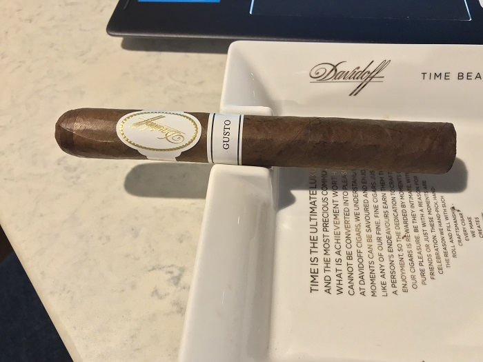 Personal Cigar Review: Davidoff Gusto