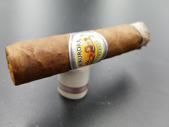 Team Cigar Review: La Aurora 1903 Edition Cameroon Corona