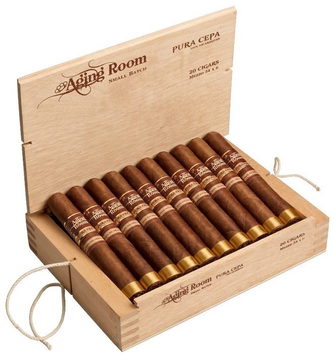 Cigar News: Aging Room Announces Pura Cepa