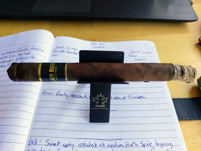 Personal Cigar Review: Black Works Studio Killer Bee Lonsdale