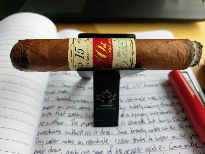 Team Cigar Review: Gurkha Cellar Reserve 15 Year 10th Anniversary