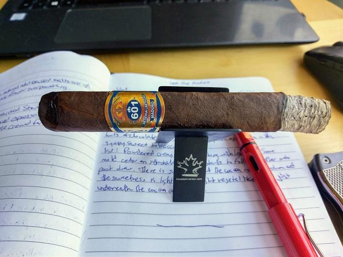 Team Cigar Review: 601 Blue Label Maduro Toro