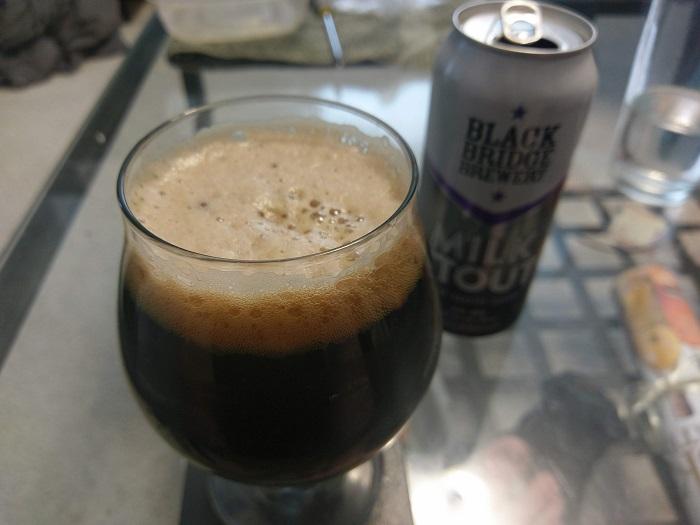 Personal Beer Review: Black Bridge Brewery Milk Stout