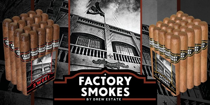 Cigar News: Drew Estate Announces Factory Smokes by Drew Estate