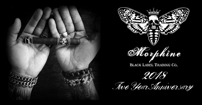 Cigar News: Black Label Announces Fifth Anniversary Release of Morphine