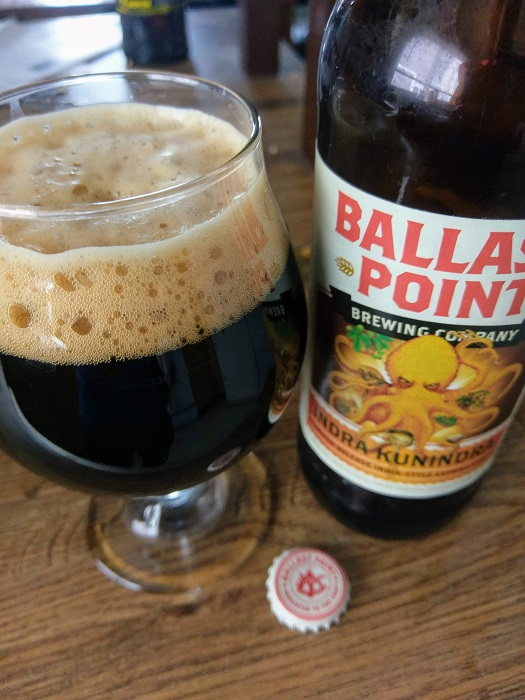 Personal Beer Review: Ballast Point Indra Kunindra
