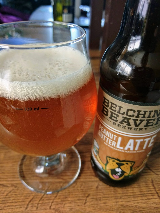 Personal Beer Review: Belching Beaver Peanut Butter Latte