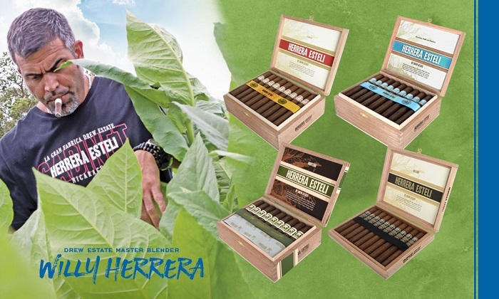 Cigar News: Drew Estate Announces Herrera Esteli Re-Branding, Brazilian Maduro and Miami Line Extensions