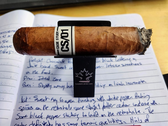 Team Cigar Review: Ventura Case Study 01 Robusto