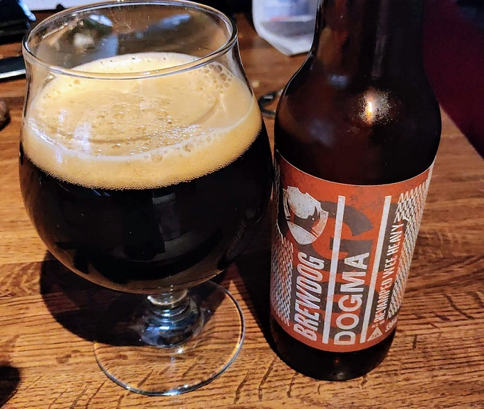Personal Beer Review: BrewDog Dogma