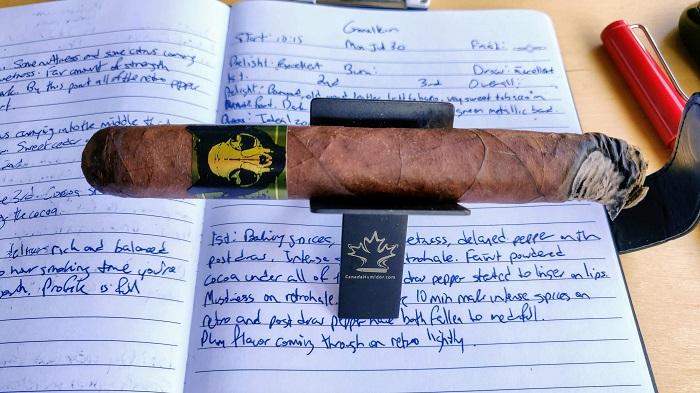 Team Cigar Review: Emilio Grimalkin Toro