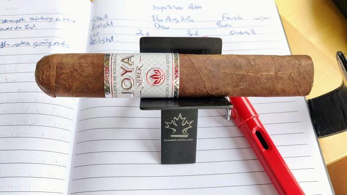 Team Cigar Review: Joya de Nicaragua JOYA Silver Robusto