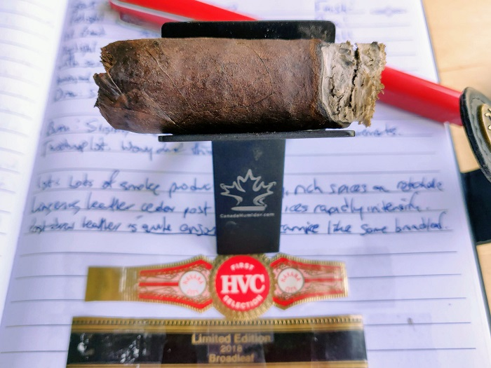 Team Cigar Review: HVC First Selection Limited Edition 2018 Broadleaf Short Robusto