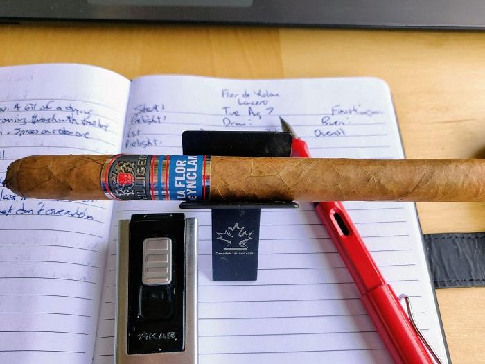 Team Cigar Review: Villiger La Flor de Ynclan Lancero Especial
