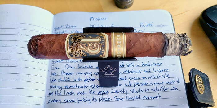 Team Cigar Review: Cornelius & Anthony Mistress Robusto