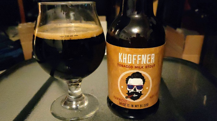 Personal Beer Review: Khoffner Tobacco Is In My Blood