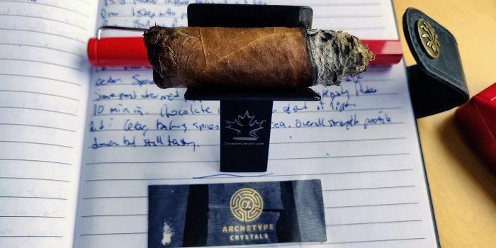 Team Cigar Review: Ventura Archetype Crystals Robusto