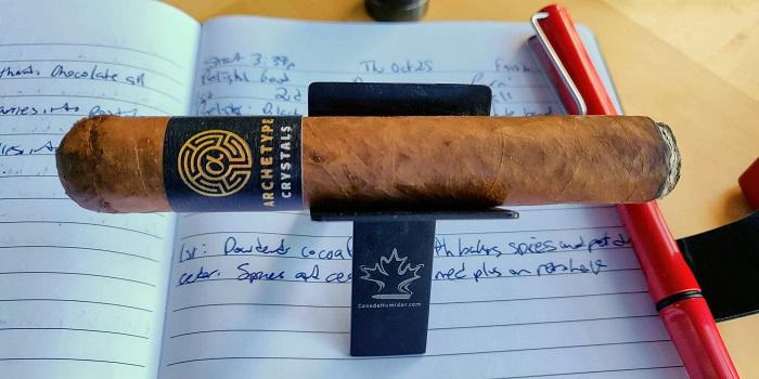 Team Cigar Review: Ventura Archetype Crystals Robusto