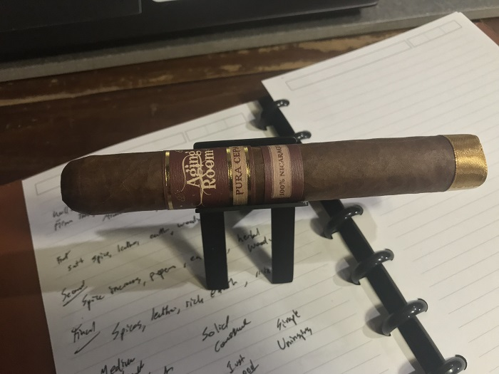 Team Cigar Review: Aging Room Pura Cepa Mezzo