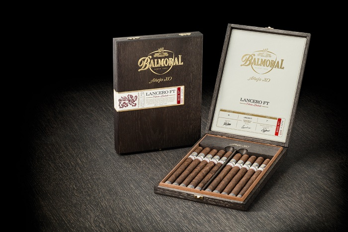 Cigar News: Royal Agio Re-Releases Limited Edition Balmoral Añejo XO Lancero FT