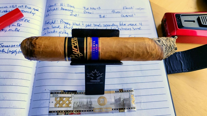 Team Cigar Review: Byron Serie Siglo XXI Aristócratas