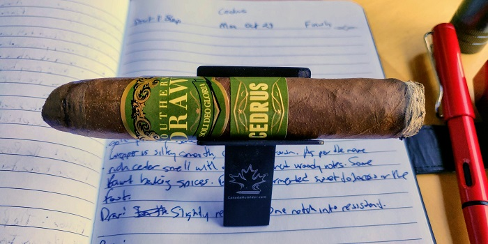 Team Cigar Review: Southern Draw Cedrus The Hogan