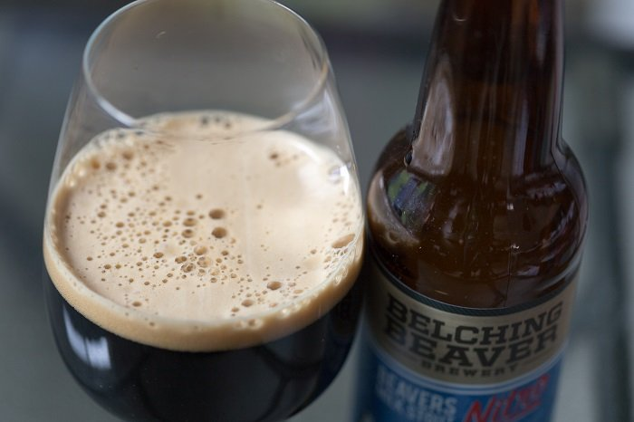 Personal Beer Review: Belching Beaver Beavers Milk Stout Nitro
